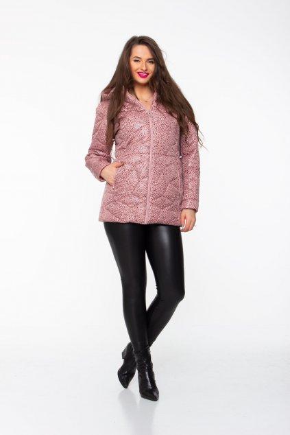 Pamela zimná bunda pudrová