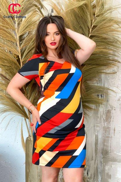 Jolly šaty farebné W