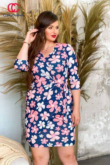 Hoppy šaty kvetinkové W