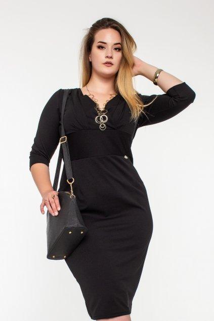 Romyna šaty čierne W