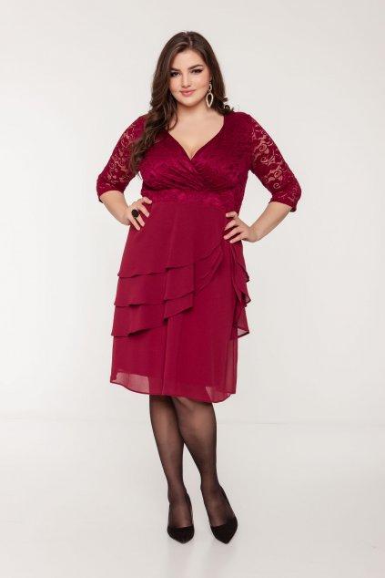 Aida šaty fialové