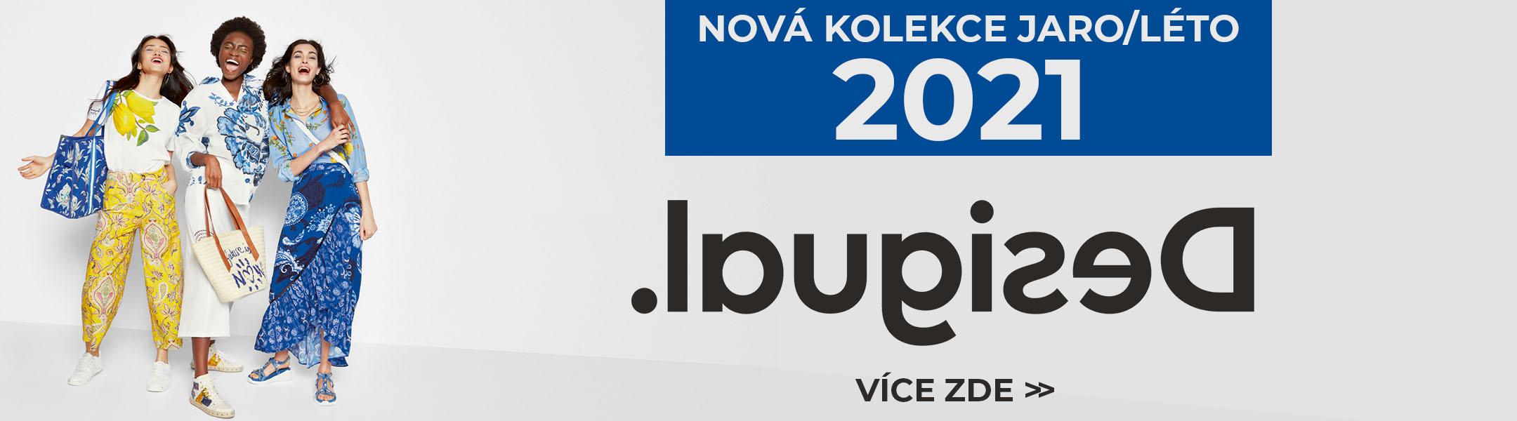 DESIGUAL NOVÁ KOLEKCE 2021