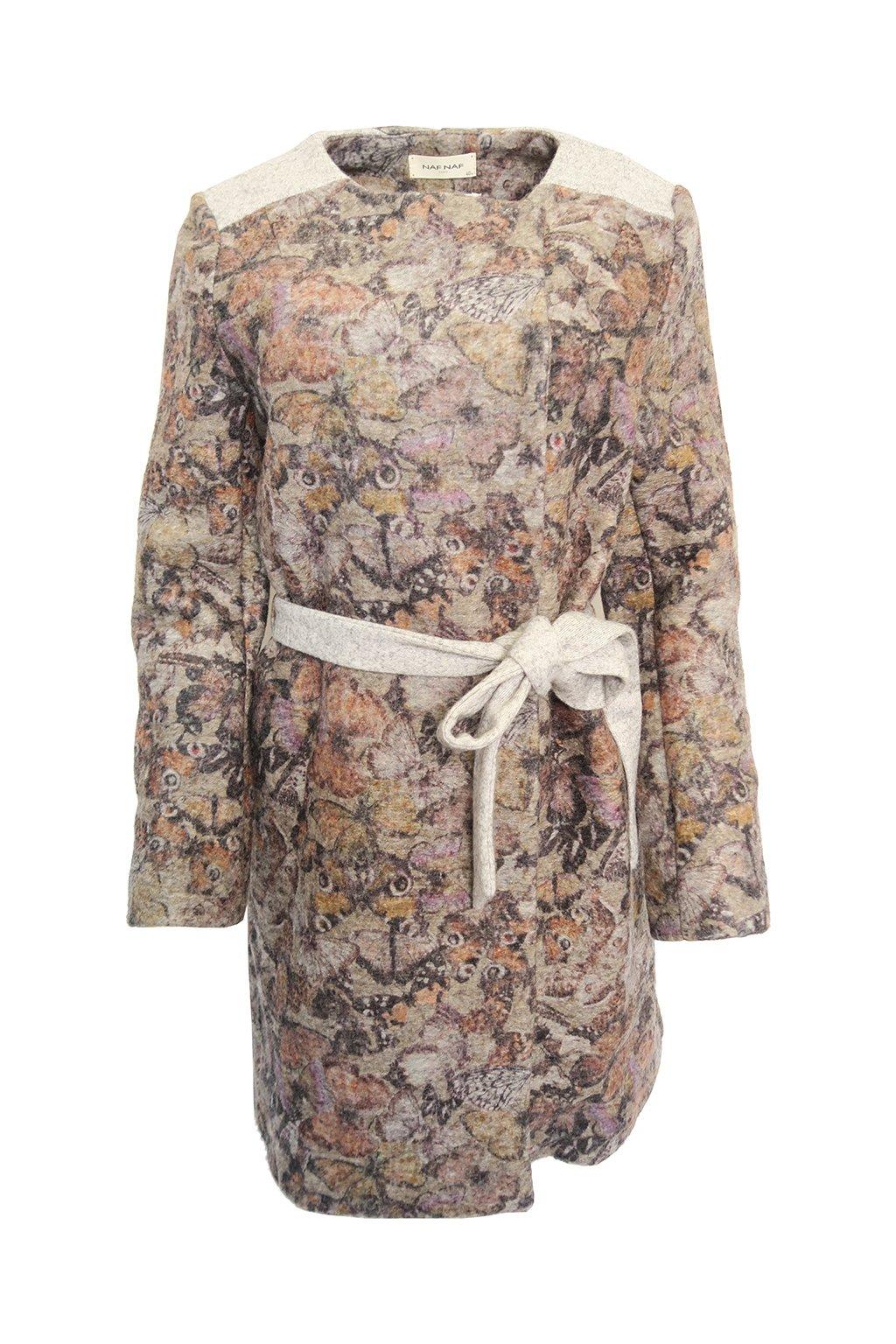Vzorovaný kabátek NAF NAF