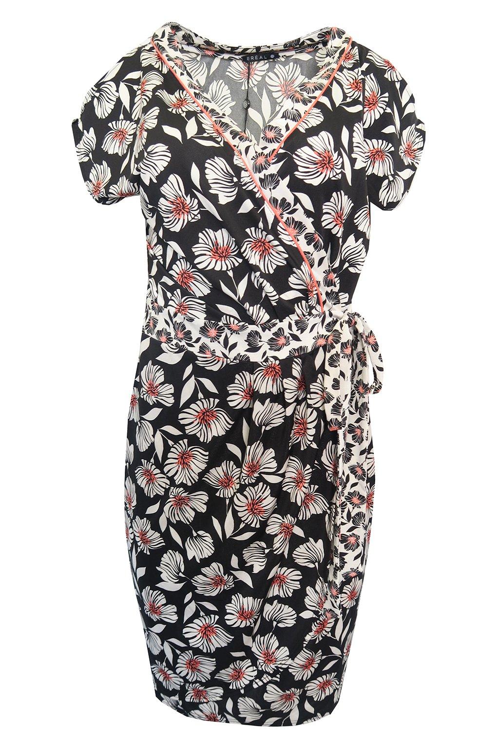 Zavinovací květované šaty Patricie Bréal