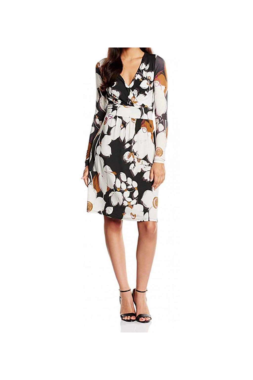 Elegantní šaty s květy Desigual
