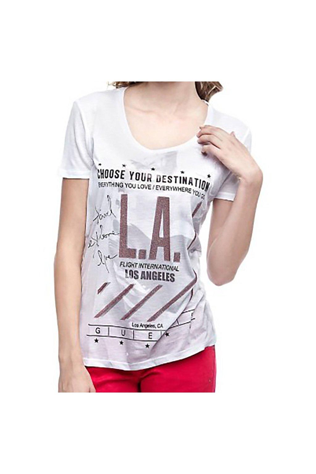 Tričko L. A. Guess