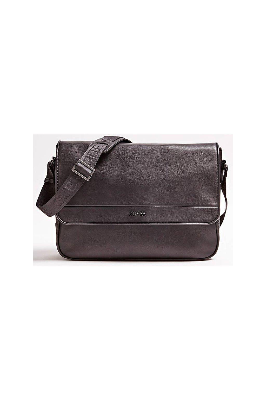 Koženková business taška Guess