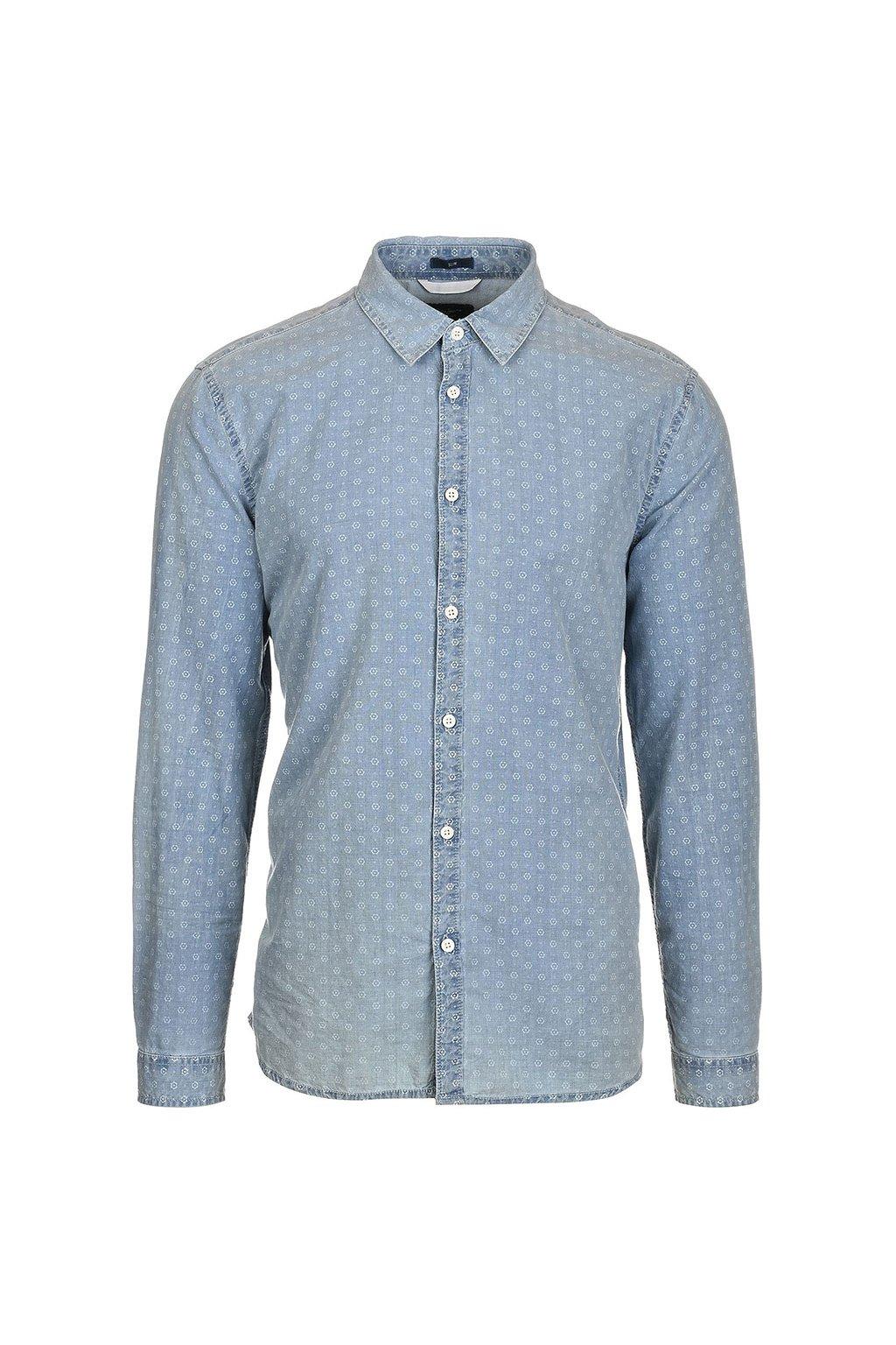 Kytičkovaná košile pro pány Pepe Jeans