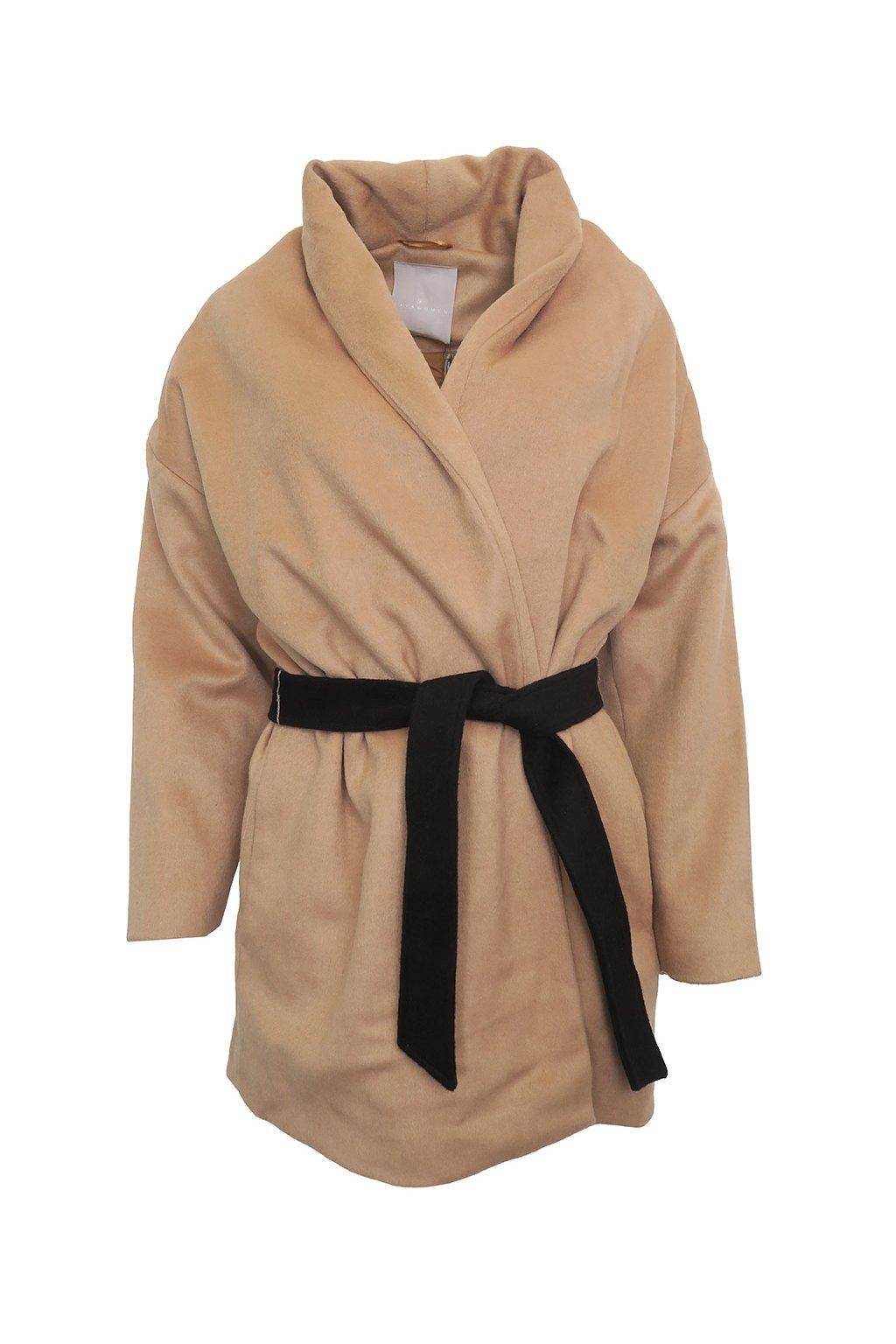 Hnědý kabát YAYA