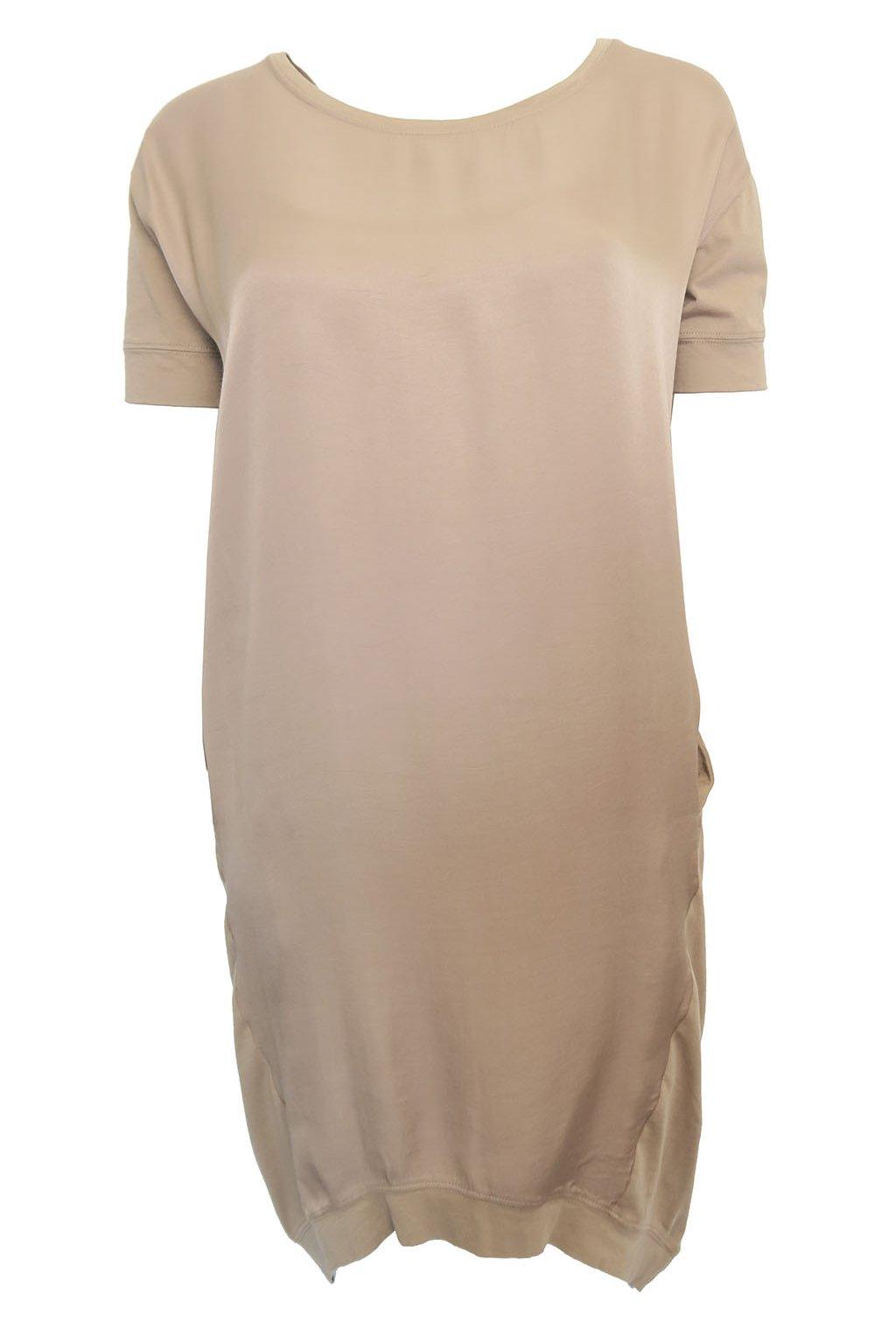 eee0562961a4 Kombinované šaty s kapsami YAYA - BERTOO
