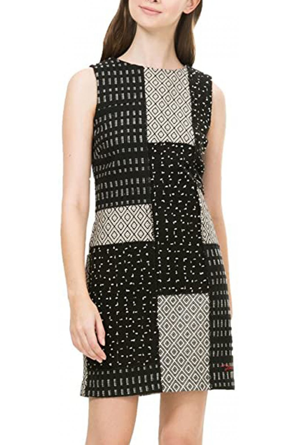 Vzorované šaty Desigual