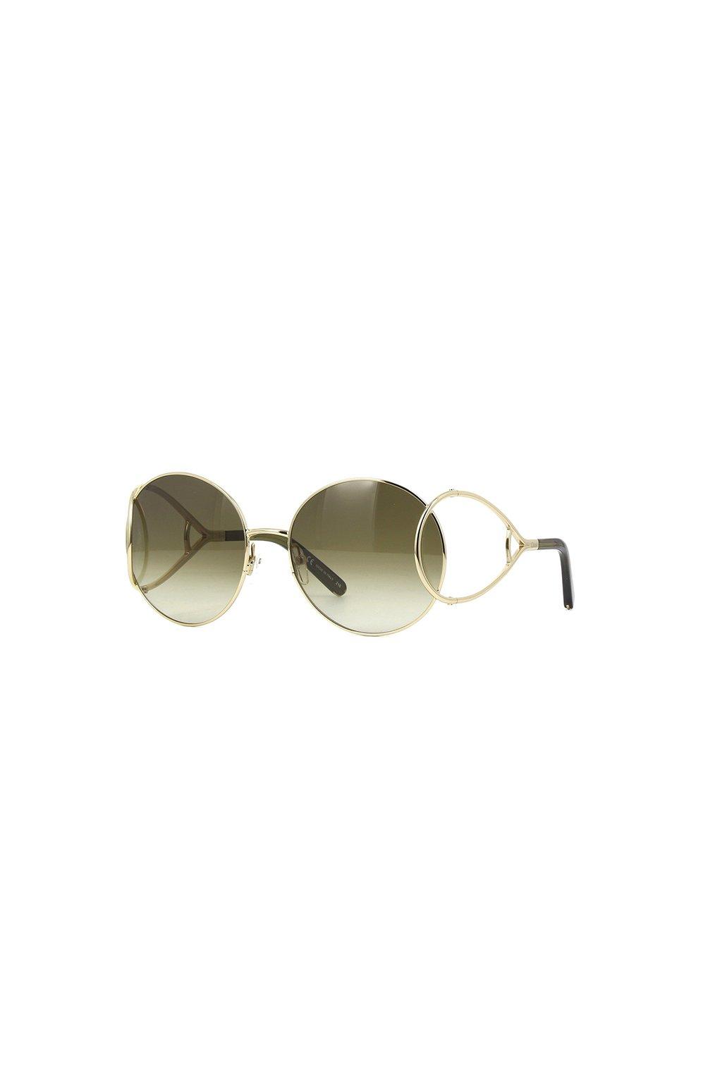 Sluneční brýle Chloé CE124S zlaté