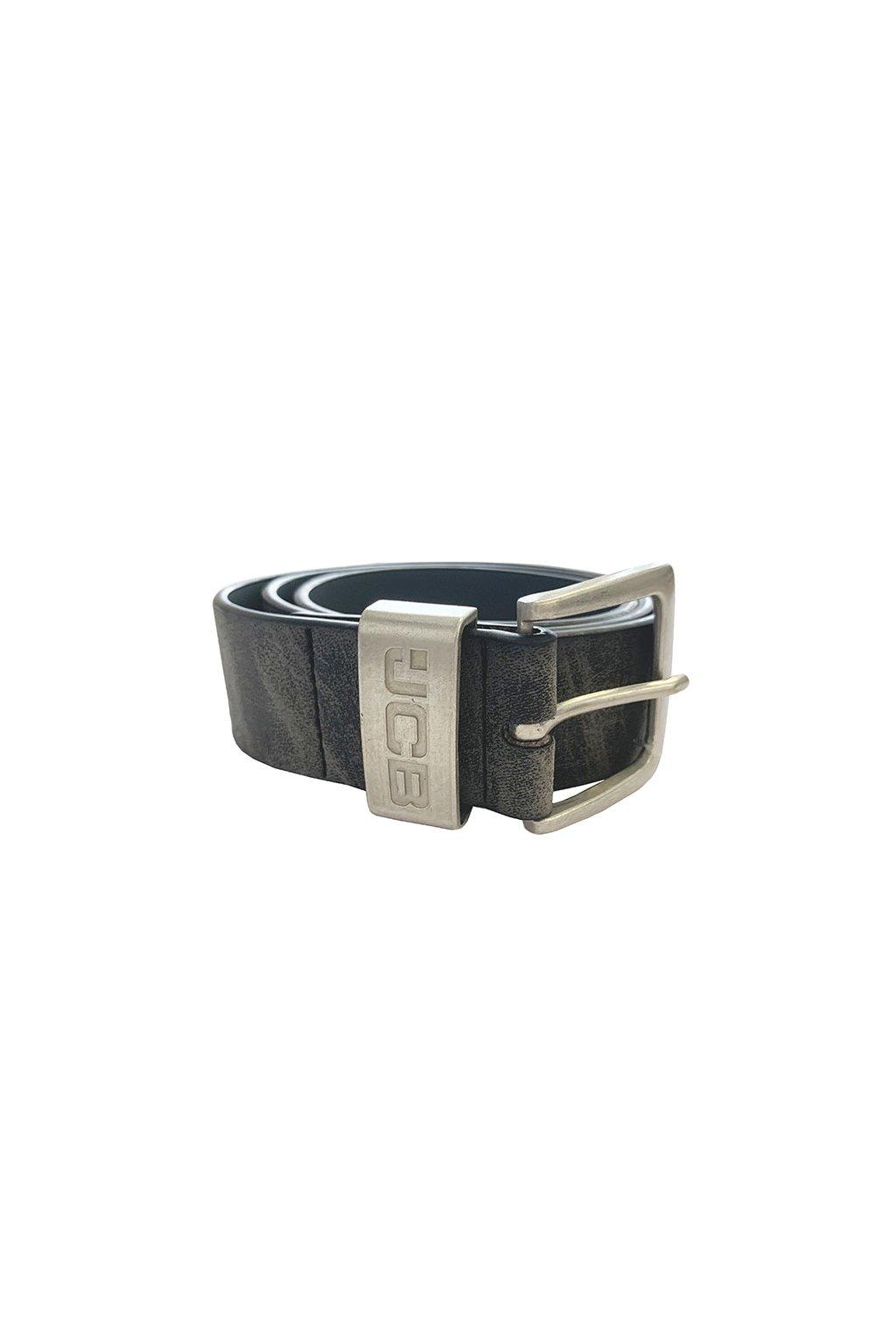 Kožený pásek JCB JCB003-BLT-S Charcoal
