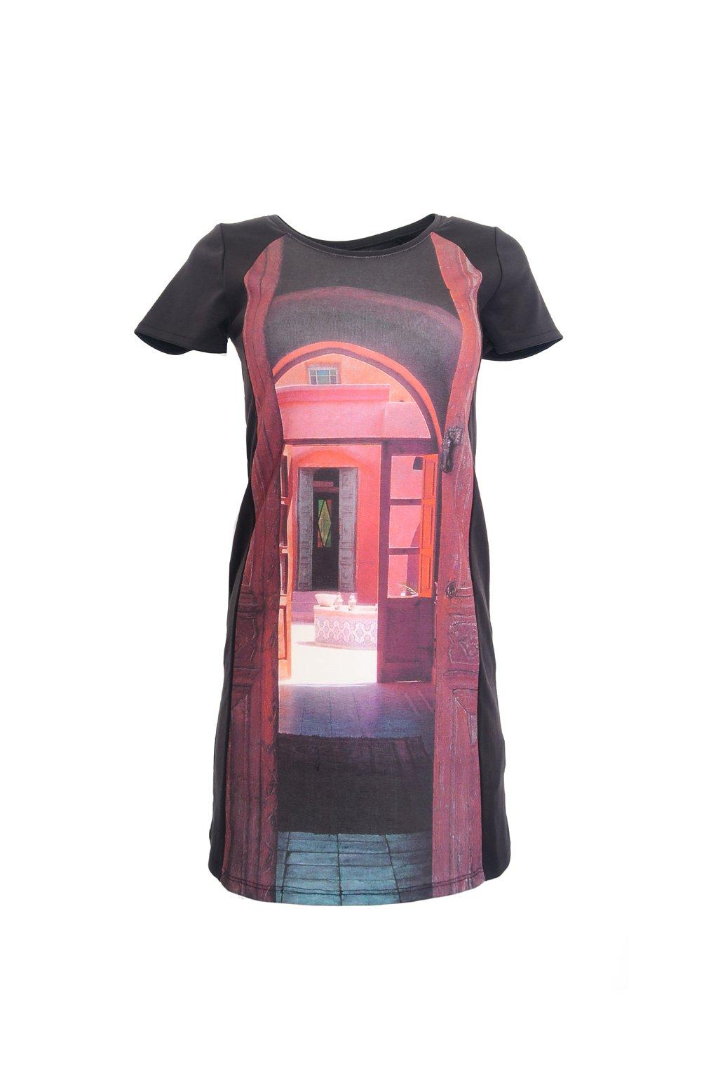 Desigual šaty s domečkem