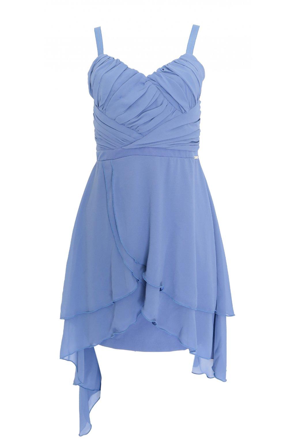 Modré šaty Rinascimento