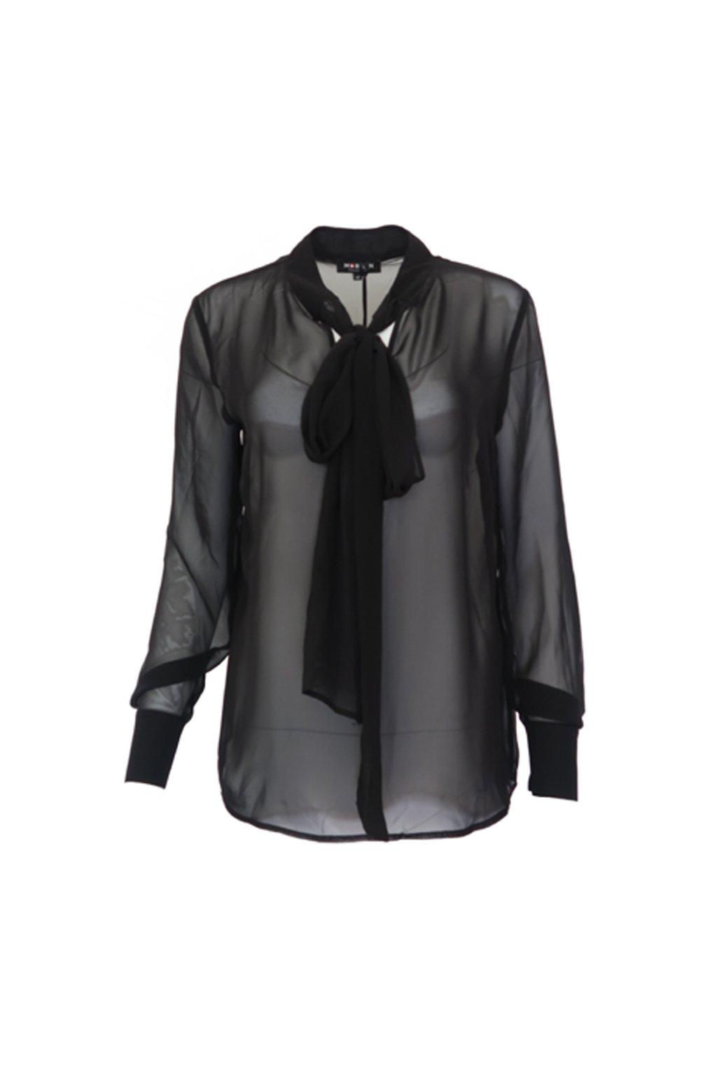 Černá košilová halenka Morgan