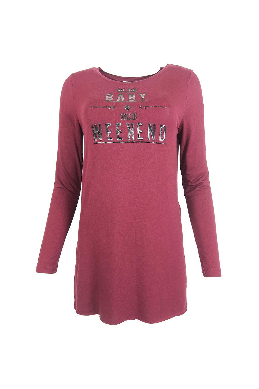 Vínové tričko Cache Cache