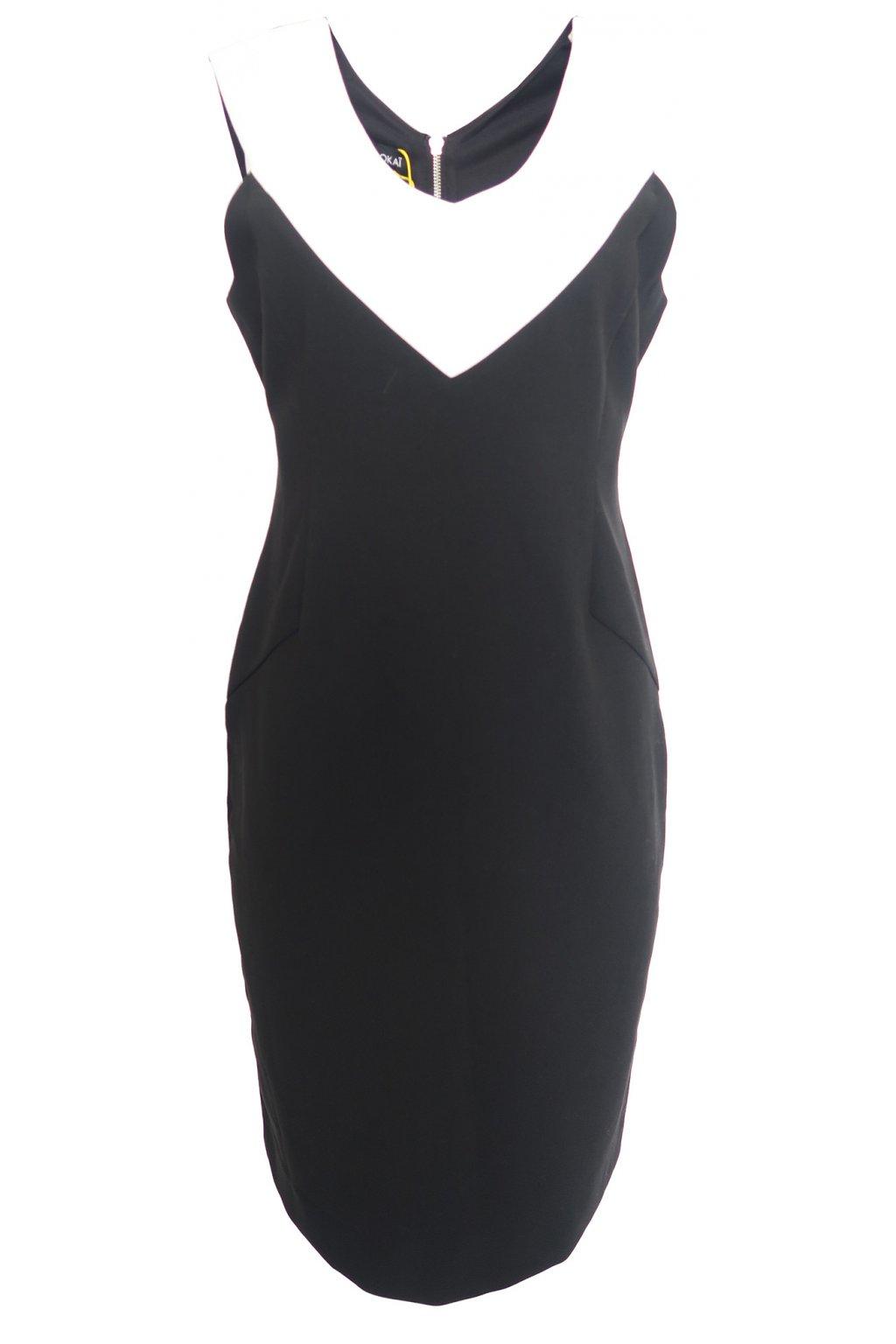 Černé společenské šaty Kookaï