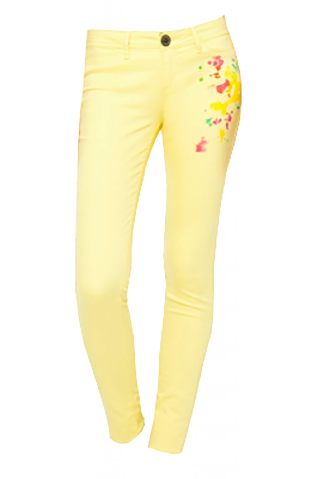 Desigual džíny s barevnými flíčky