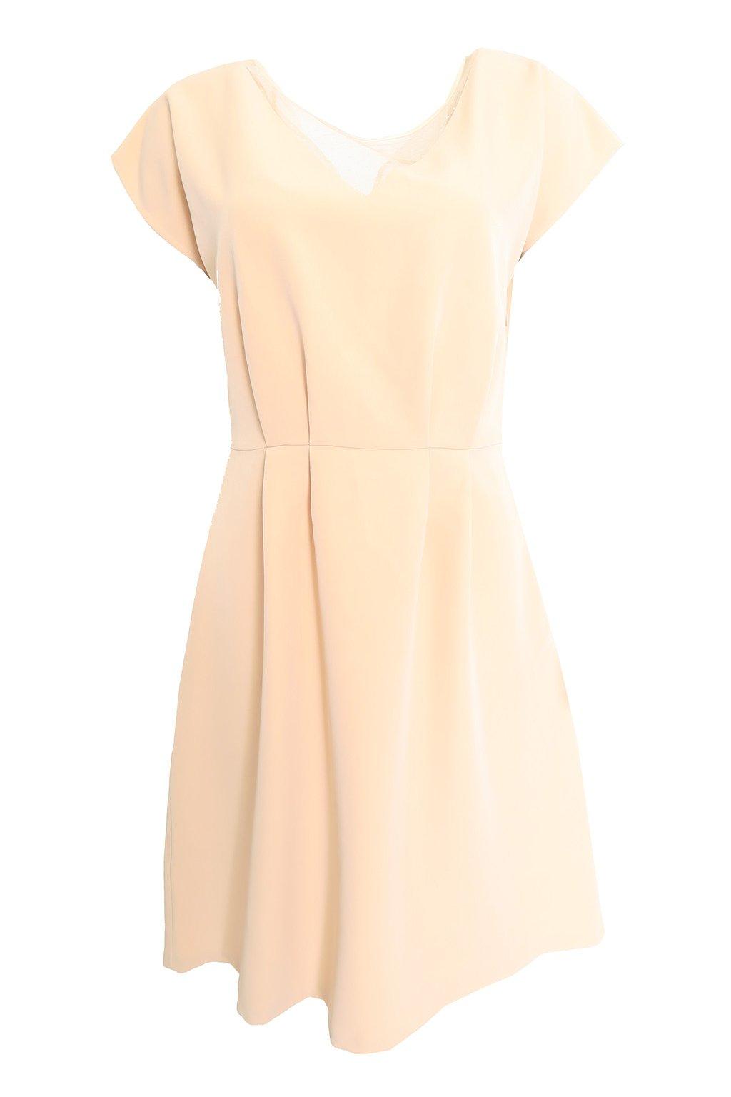 Meruňkové šaty Kookai