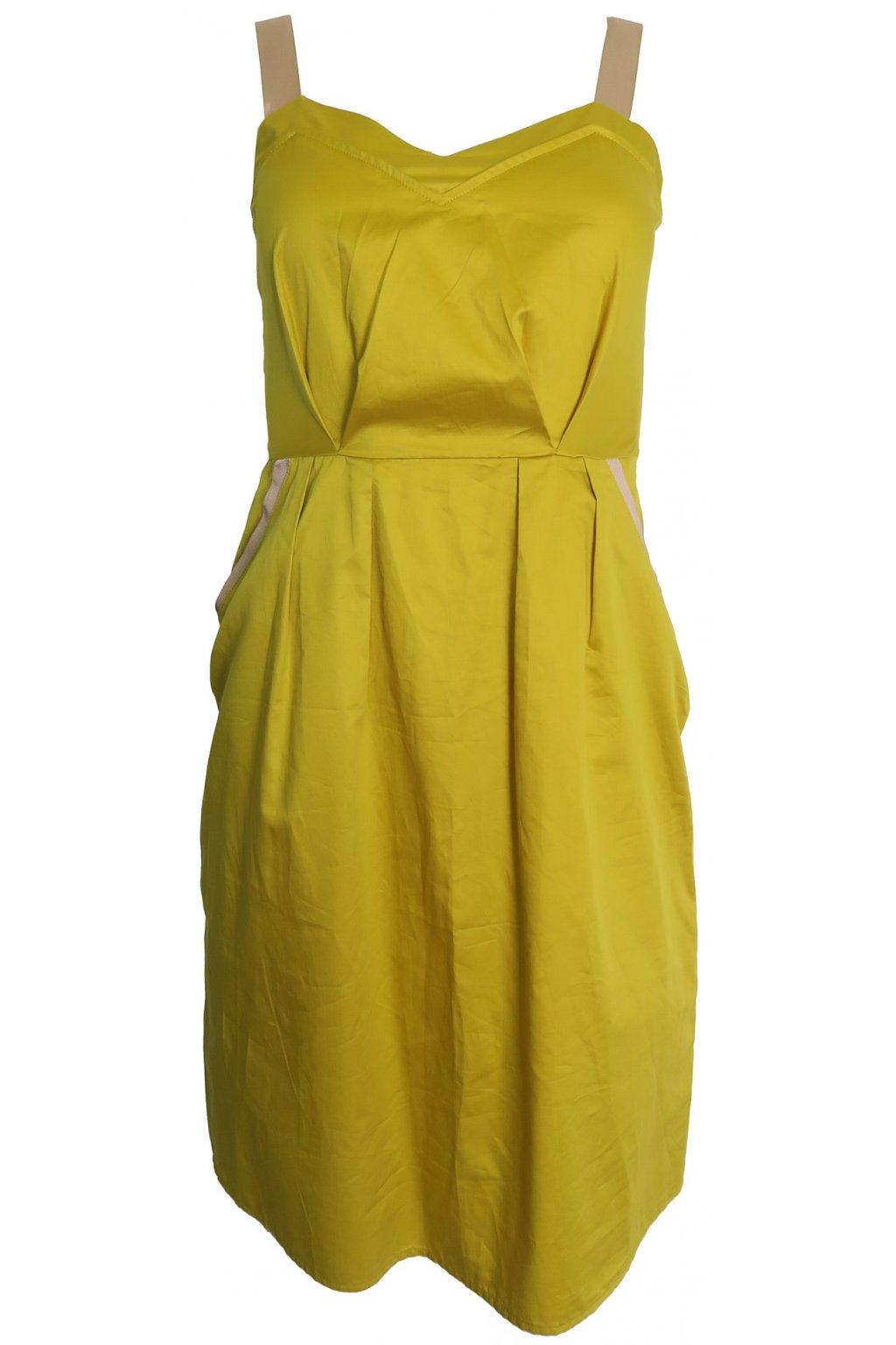 Lehké limetkové šaty Kookai