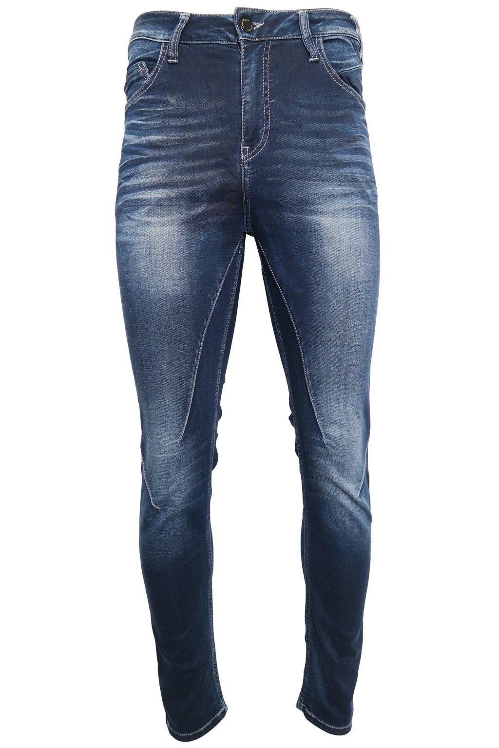 Tmavé uplé džíny Cipo & Baxx