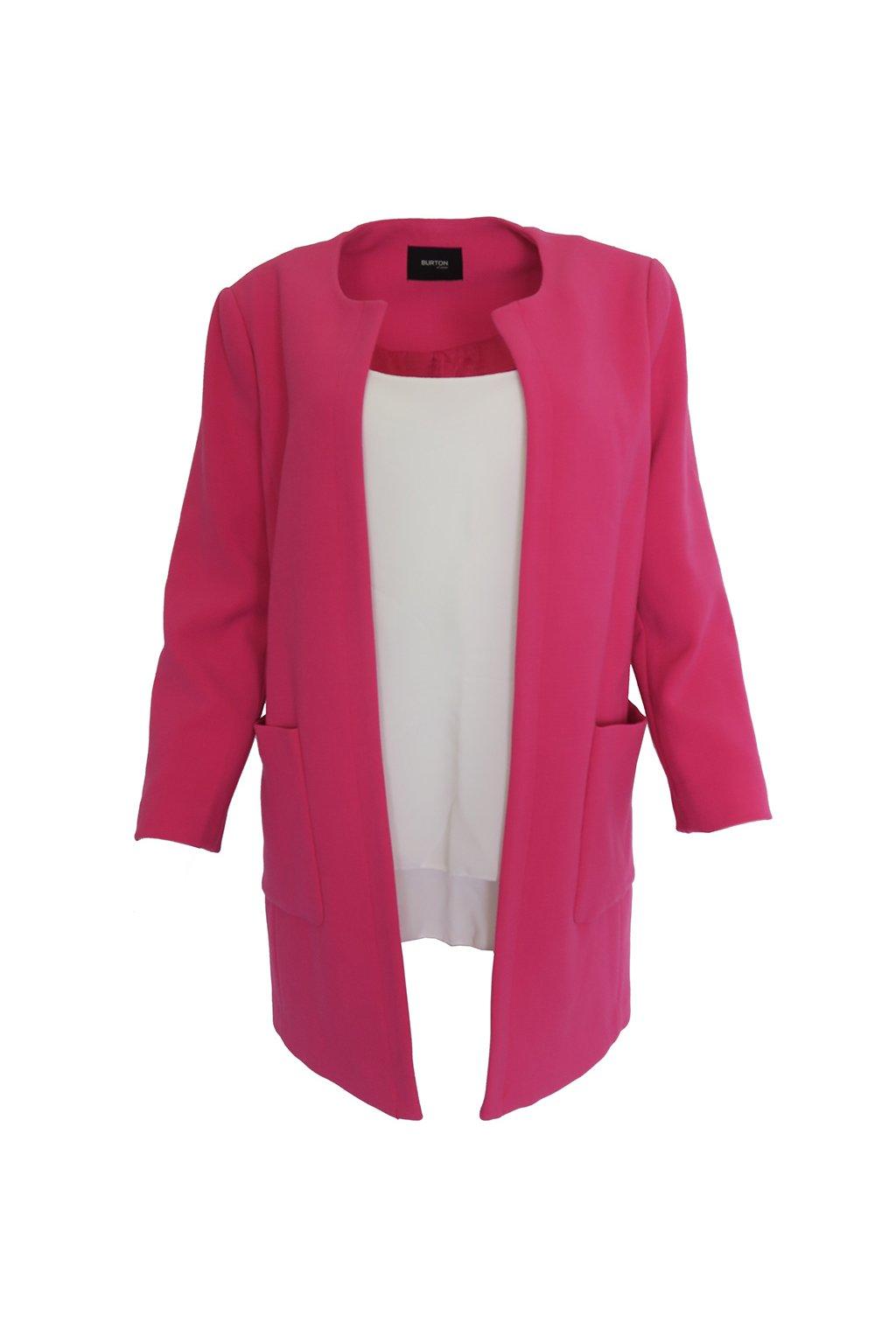 Růžový kabátek Burton