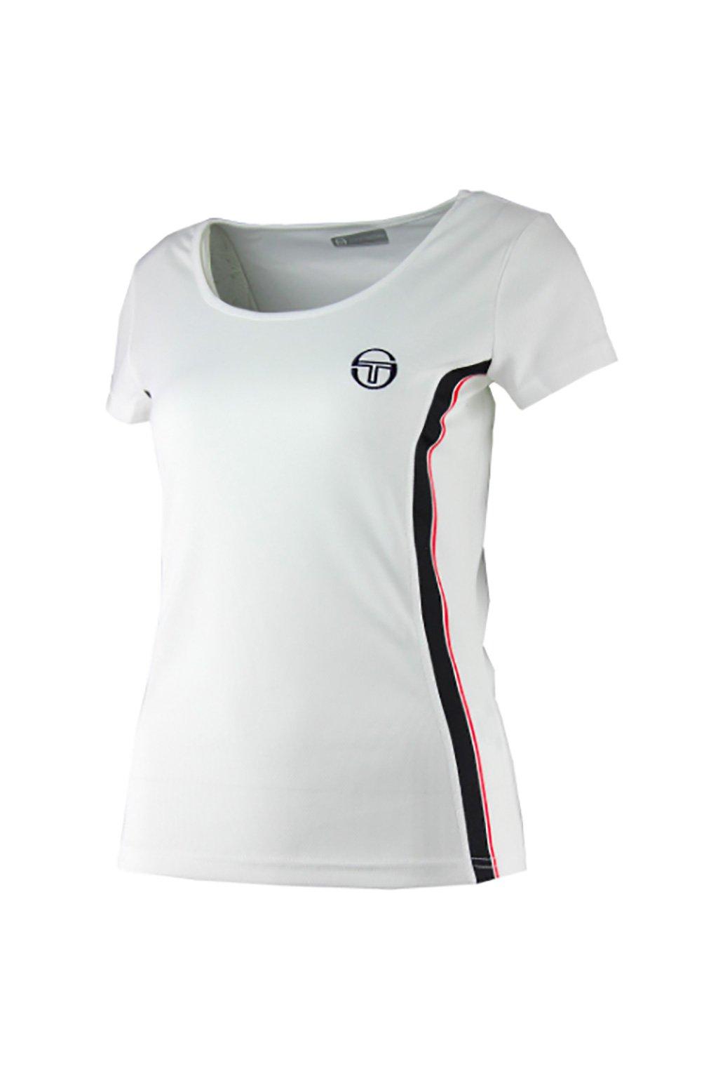 Tenisové bílé tričko Sergio Tacchini