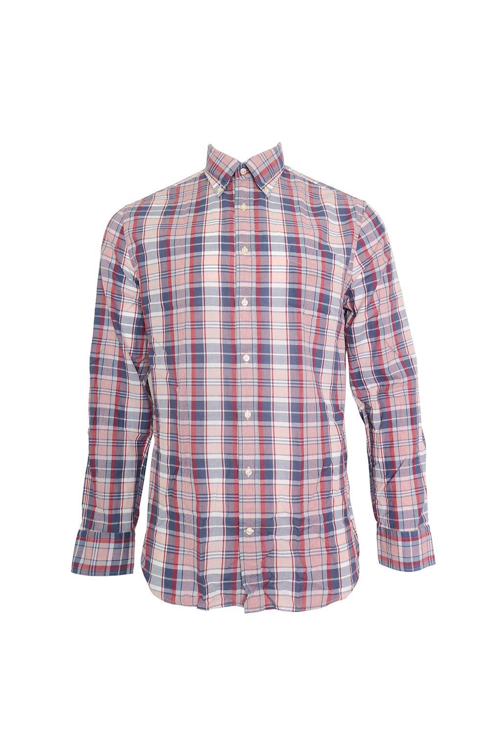 Károvaná košile Yale Gant
