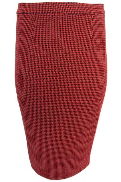 Elegantní sukně s kohoutí stopou Pimkie