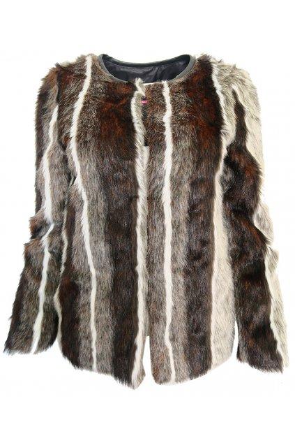 Chlupatý kabátek NAF NAF