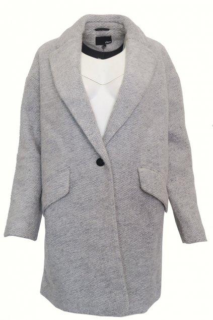 Šedý kabát Etam