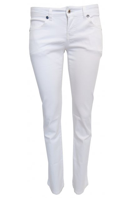 Bílé kalhoty Galvanni