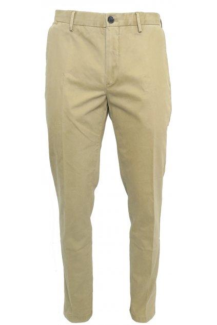 Hnědé kalhoty Galvanni