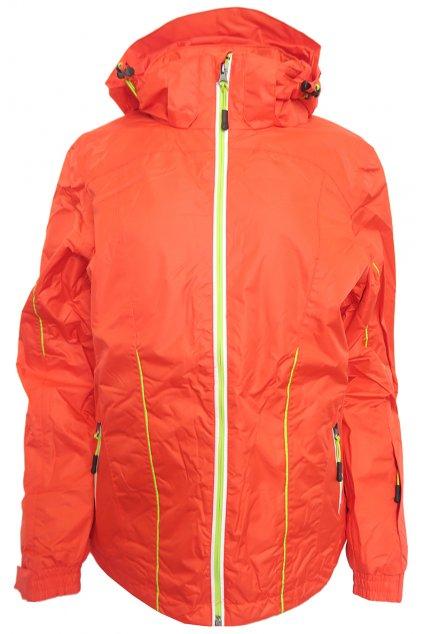 Červená lyžařská bunda Crivit