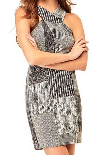 Vzorované šaty Guess