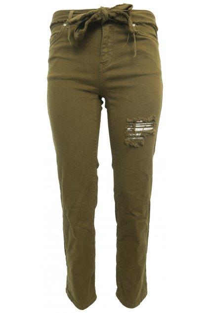 Khaki kalhoty PIMKIE