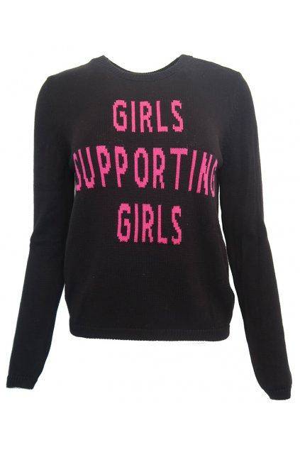 Černý svetřík GIRLS Pimkie