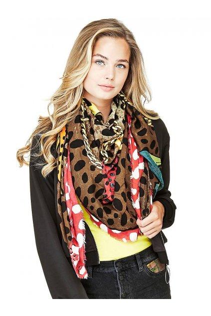 Šátek s logem Guess