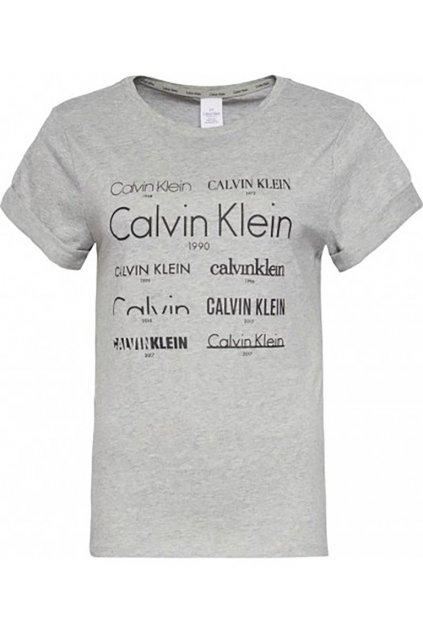 Dámské tričko s logy Calvin Klein