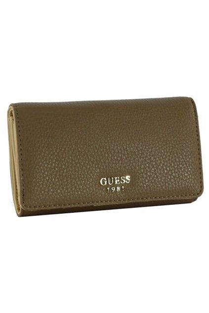 Hnědá peněženka Guess
