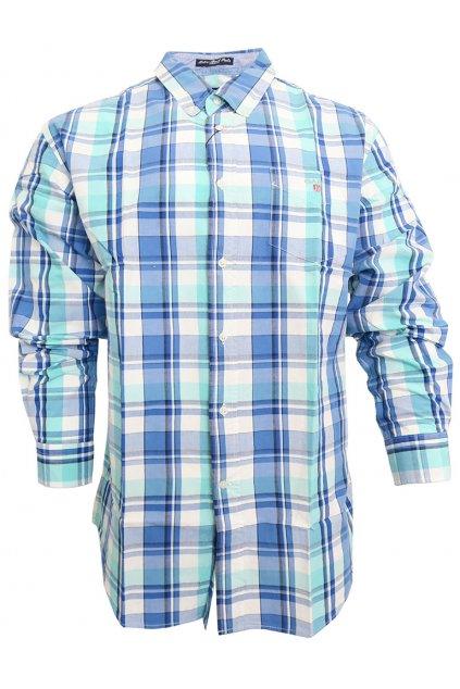 Pánská košile GANT modro/zelená