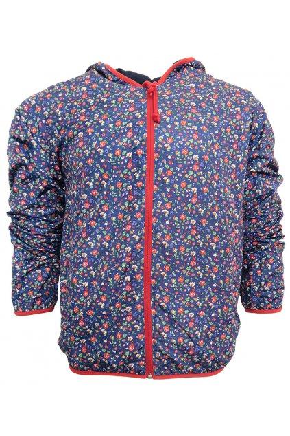 Květovaná šusťáková bunda Franklin Marshall