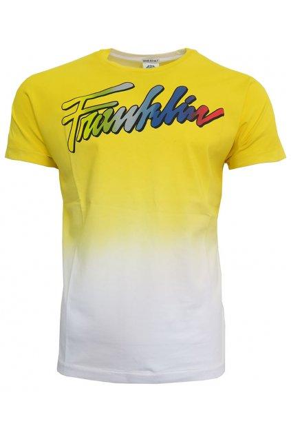 Žluté triko Franklin Marshall