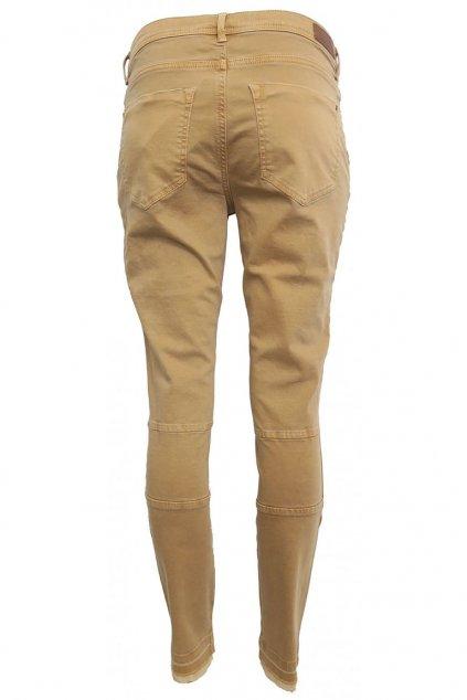 Cihlové kalhoty s efektními kapsami YAYA