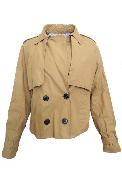 Krátký kabát Stradivarius