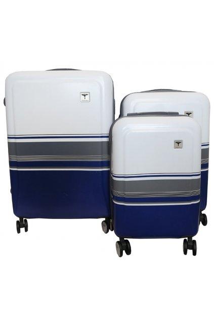 Cestovní kufry TRAWORLD - tmavě modrá