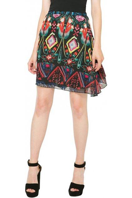 Barevná vzdušná sukně Desigual