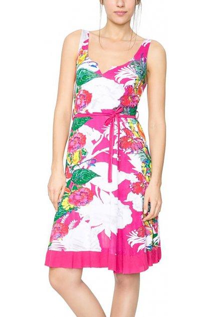 Barevné letní šaty Desigual