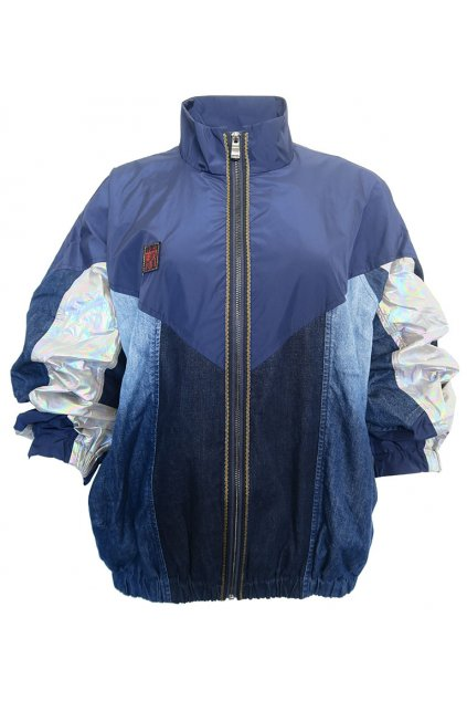 Šusťákovo-džínová bunda Desigual